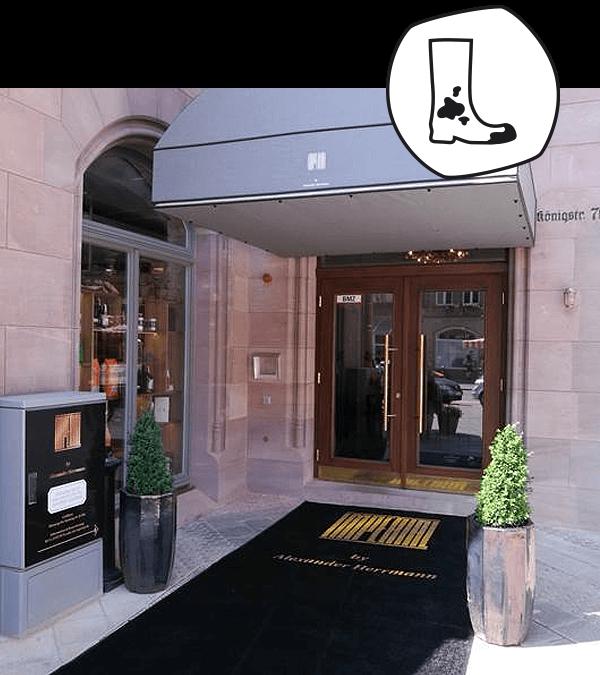 Salonloewe est fier de vous présenter : les tapis aux couleurs du restaurant Imperial à Nuremberg