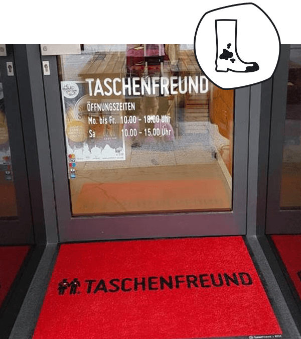 Salonloewe proudly presents: Imagematten bei Taschenfreund Hanau