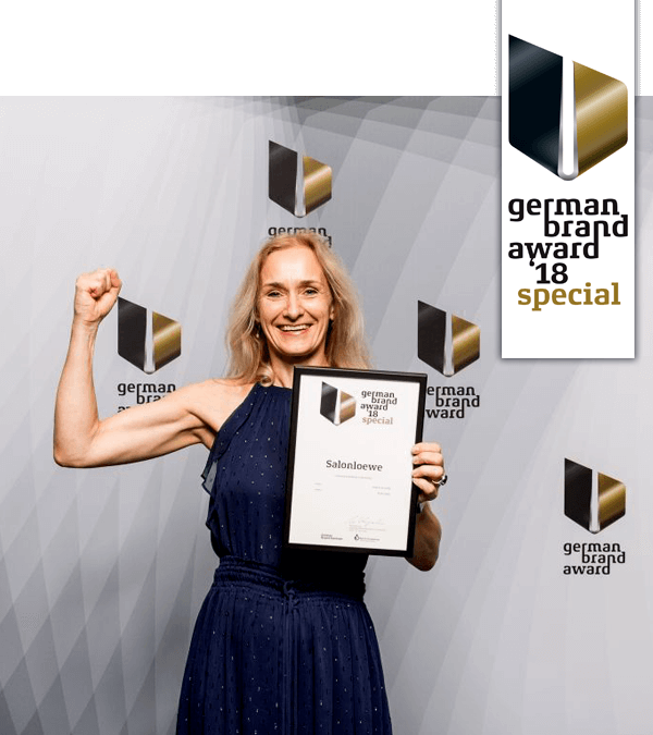 Salonloewe receives the German Brand Award Special Mention!